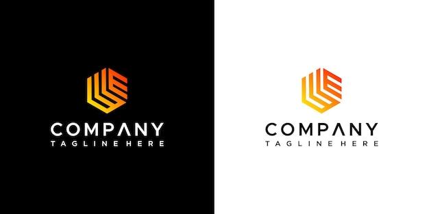 Carta nós design de logotipo