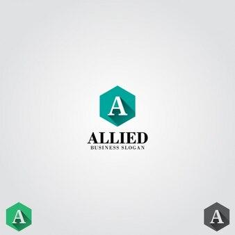 Carta simples um logo