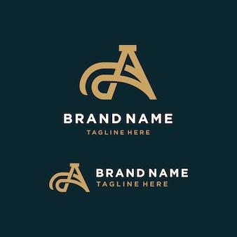 Carta um logotipo