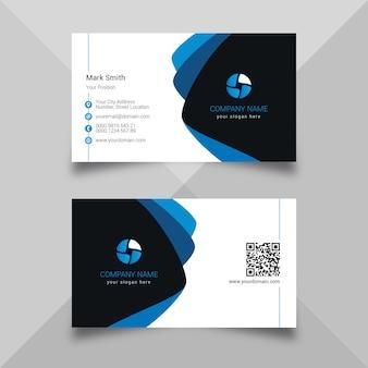 Cartão azul