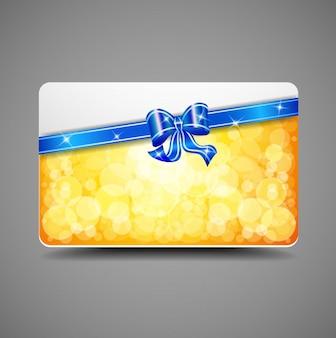 Cartão com fitas