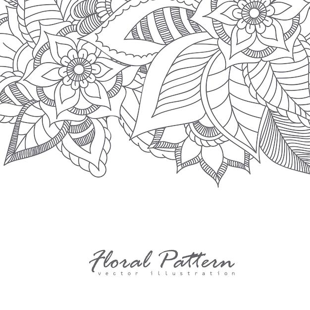 Cartão com flores