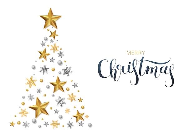 Cartão, convite com feliz ano novo e natal.