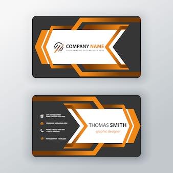 Cartão corporativo criativo
