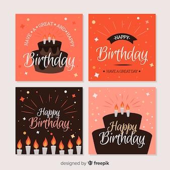Cartão de aniversário