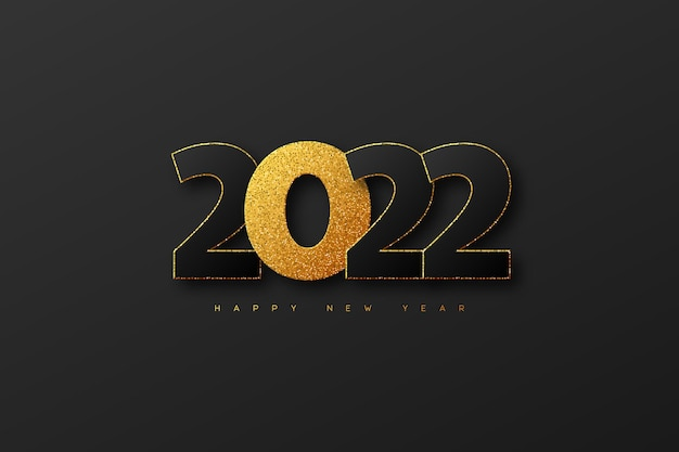 Cartão de ano novo 2022