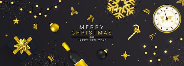 Cartão de ano novo de férias - feliz natal