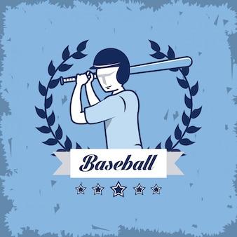 Cartão de campeonato de beisebol