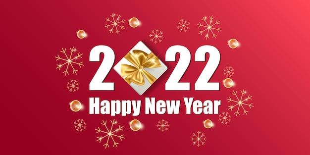 Cartão de casamento e feliz ano novo