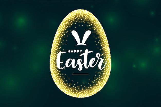 Cartão de celebração para o festival de celebração do dia de páscoa