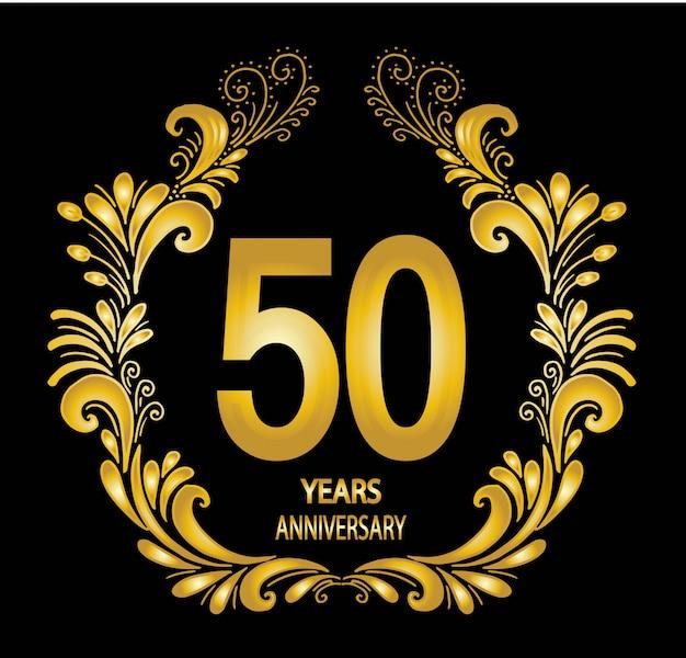 Cartão de comemoração de aniversário