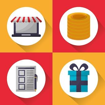 Cartão de compras online