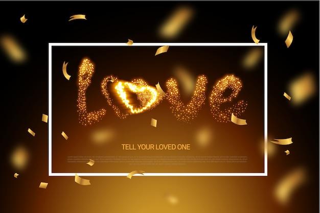 Cartão de confissão para transmitir amor