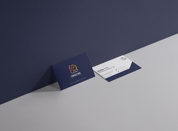 Cartão de consultoria empresarial