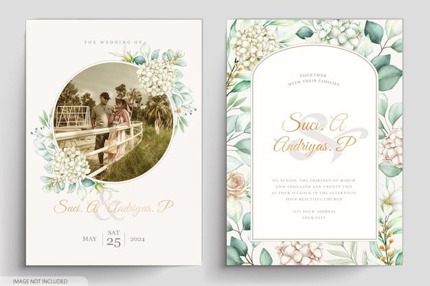 Cartão de convite aquarela peônias elegantes