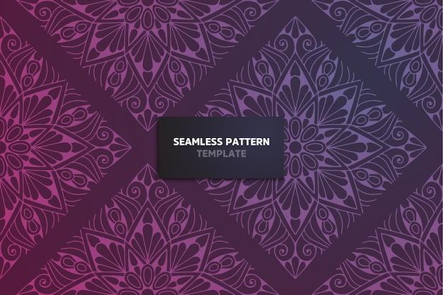 Cartão de convite com fundo de ornamento floral
