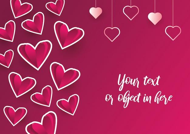 Cartão de convite de amor dia dos namorados