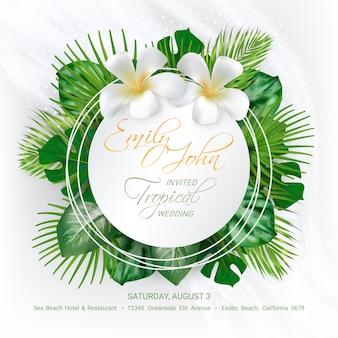 Cartão de convite de evento de casamento