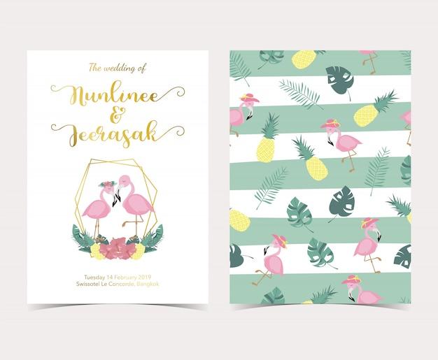Cartão de convite-de-rosa azul com palm