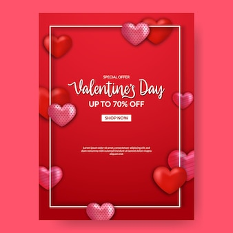 Cartão de convite do quadro de decoração de forma de coração amor.