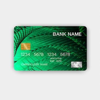 Cartão de crédito verde