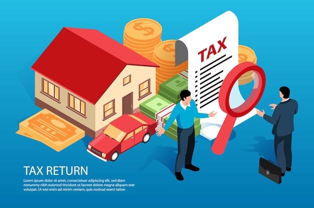 Cartão de declaração de imposto