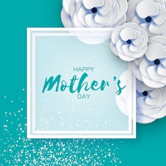 Cartão de dia das mães.