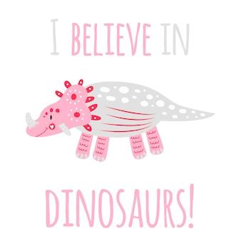 Cartão de dinossauro