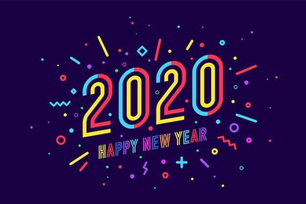 Cartão de feliz ano novo