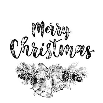 Cartão de feliz natal jingle bells
