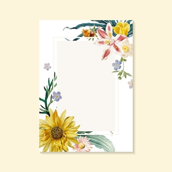 Cartão de florescência