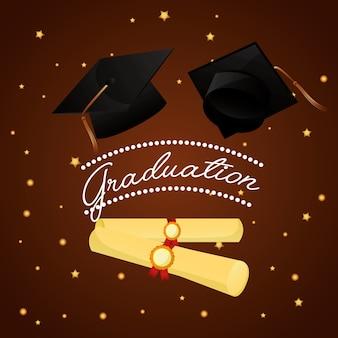 Cartão de formatura parabéns