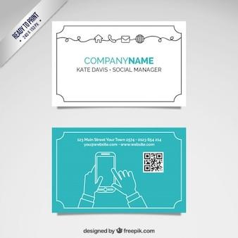 Cartão de gestor social