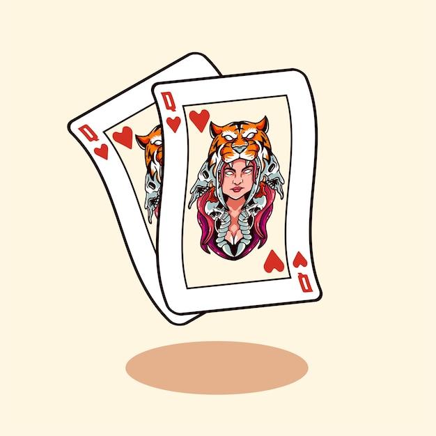 Cartão de jackpot com ícone de estilo moderno