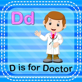 Cartão de memória letra d é para médico
