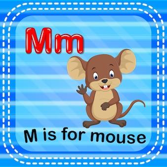 Cartão de memória letra m é para o mouse