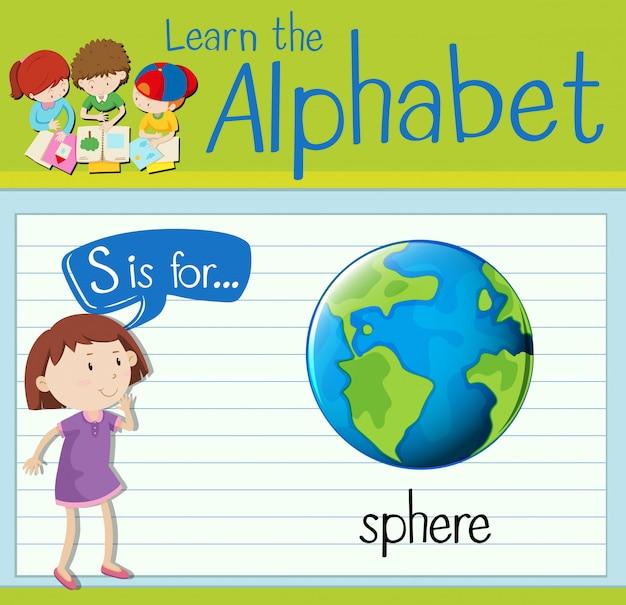 Cartão de memória letra s é para esfera