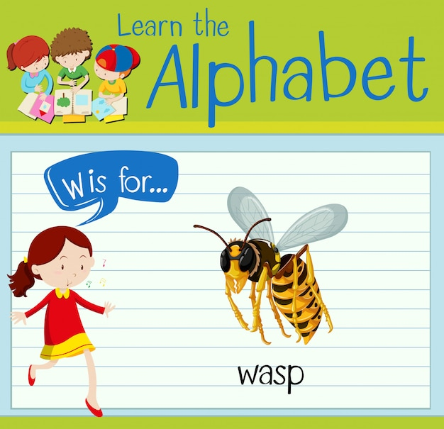 Cartão de memória letra w é para vespa