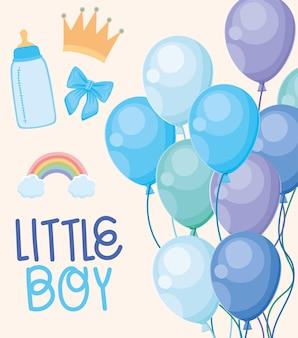 Cartão de menino