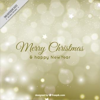 Cartão de natal minimalista com flocos de neve