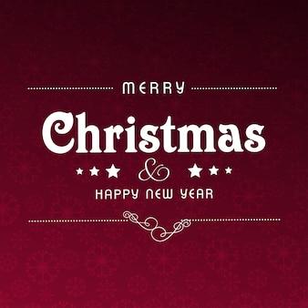 Cartão de natal ou design de cartaz