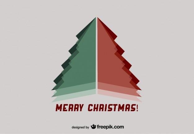 Cartão de natal para os melhores desejos