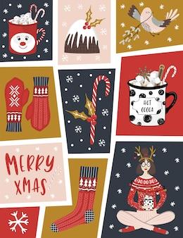 Cartão de natal.