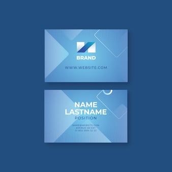 Cartão de negócios frente e verso para negócios em geral