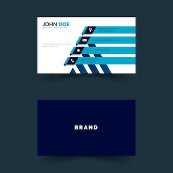 Cartão de nome simples