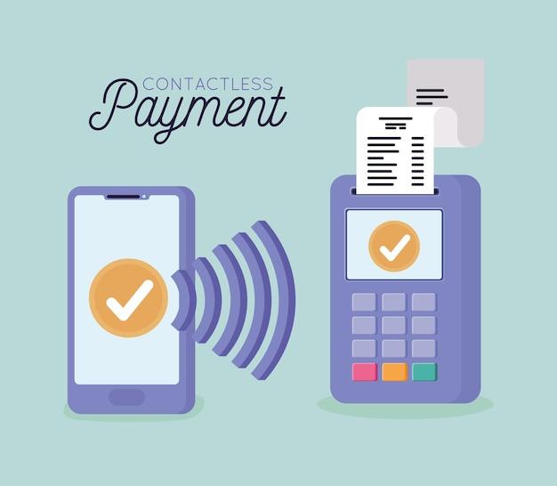 Cartão de pagamento sem contato
