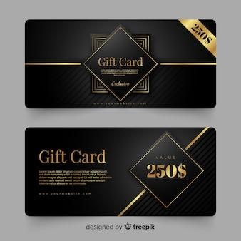 Cartão de presente de 250 $