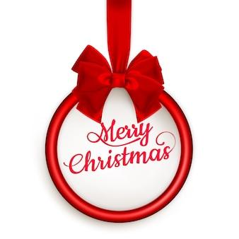 Cartão de presente de natal.