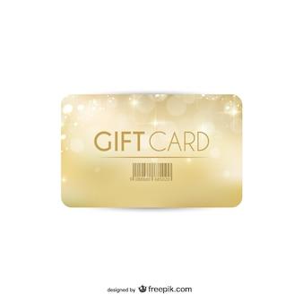 Cartão de presente de ouro
