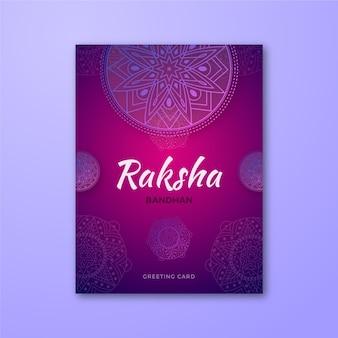 Cartão de raksha bandhan